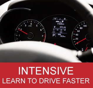 Intensive Driving Courses in Mansfield with Can Drive Driving School