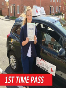First time pass in Mansfield with Can Drive