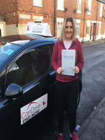 First time pass with Can Drive