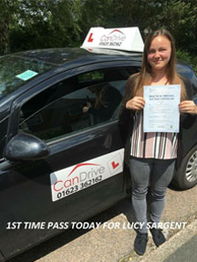 First time pass with Can Drive in Mansfield