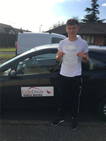 First time pass with Can Drive in Shirebrook