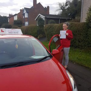 Driving lesson in Mansfield