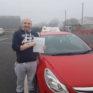 Driving school sutton in ashfield with another 1st time pass