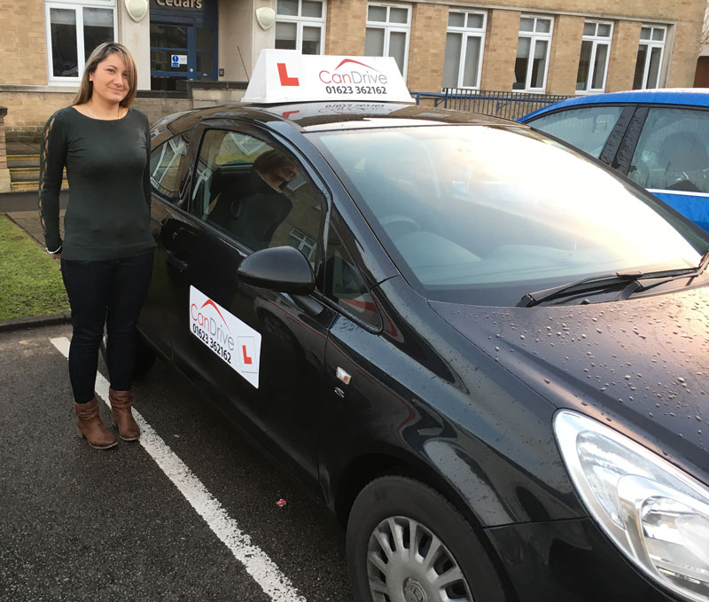 female Driving Instructor in Sutton in Ashfield