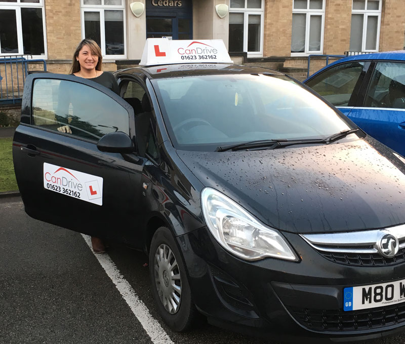female Driving Instructor in Mansfield