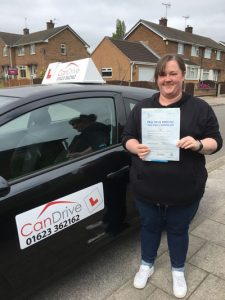 Jade Swann Student of Wayne Cordon at Can Drive Driving School